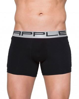 Apple Ανδρικό Boxer Porche 0110206 Μαύρo - Ασημί
