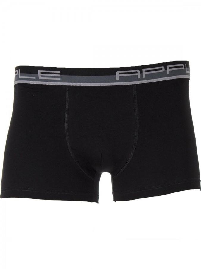 Apple Ανδρικό Boxer 0110951 Black-Grey
