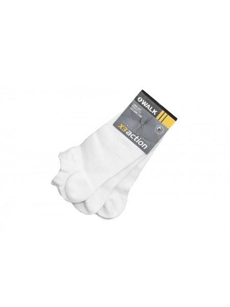 Walk Ανδρικές Κάλτσες Set 3 τεμαχίων V20-Λευκό