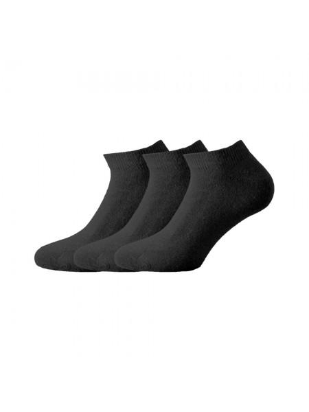 Walk Ανδρικές Κάλτσες Set 3 τεμαχίων V20-ΜΑΥΡΟ