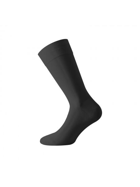 WALK Ανδρικές Μερσεριζέ Βαμβακερές Καλοκαιρινές Κάλτσες W100 ΜΑΥΡΟ