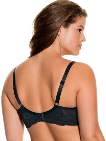 DORINA Adele Σουτιέν για Μεγάλο Στήθος D/E/F - D17165A-V00 Μαύρο