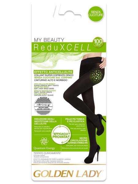 GOLDEN LADY Γυναικείο Καλσόν Κατά Της Κυτταρίτιδας My Beauty 100 Reduxcell  #28VVV ΜΑΥΡΟ