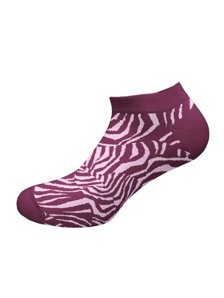WALK Γυναικείες Κοφτές Κάλτσες Bamboo Με Σχέδιο W332-9 ΜΕΛΙΤΖΑΝΙ