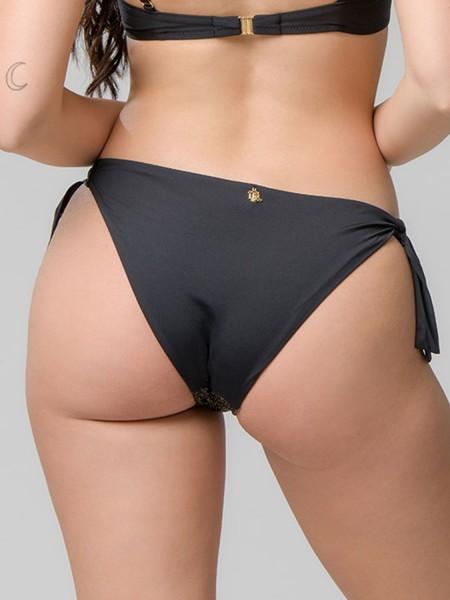 LUNA Star μπικίνι σλιπ με κορδόνια - 93599 Μαύρο