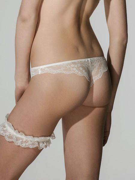 Luna Honeymoon string σλιπ - 24034 Ιβουάρ