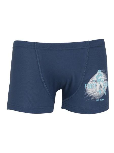 Nina Club Παιδικό Μποξεράκι Βαμβακερό για Αγόρι #315 Μπλε